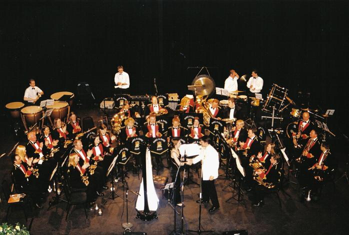 Concerto for Harp and Brass Band - Gareth Wood - Last Night of the Proms - Welsh Brass Arts Festival 2003