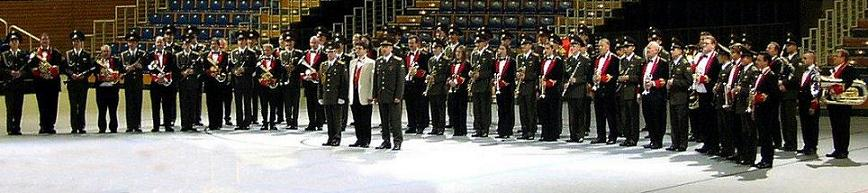 Combined with the Band of the 